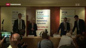 Video «FDP setzt auf Dreierticket» abspielen