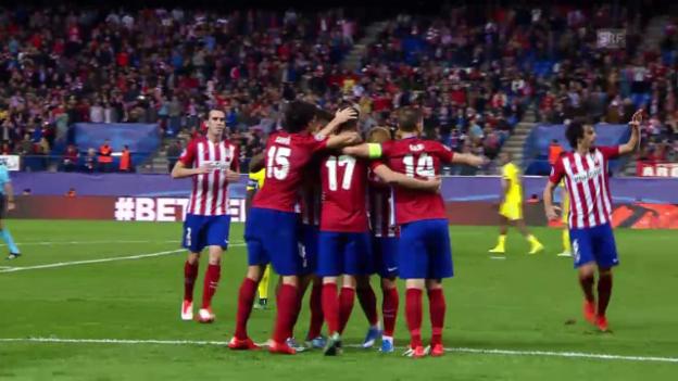 Video «Fussball: CL, Atletico - Astana, Tor von Saul Niguez» abspielen