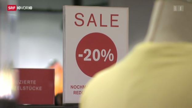Video «Schwierige Lage für Schweizer Modebranche» abspielen