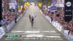 Video «Cancellara bei Flandern-Rundfahrt geschlagen» abspielen