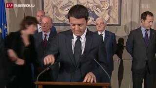 Video «Renzi ist bereit zum Regieren» abspielen