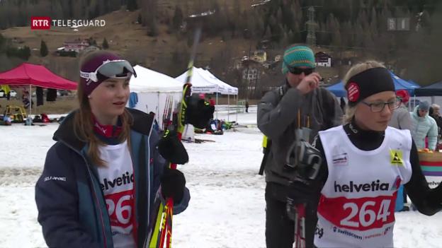 Laschar ir video «Rona – Dus fargliuns da Sedrun èn sa participads als Helvetic Nordic Games»