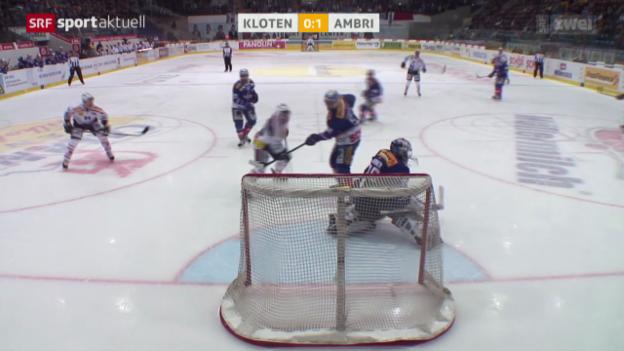 Video «Eishockey: Kloten - Ambri» abspielen