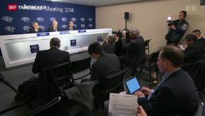 Video «WEF geht zu Ende » abspielen