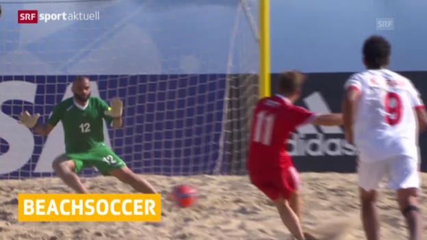 Video «Schweizer Pflichtsieg zum WM-Auftakt» abspielen