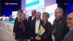 Video «Der magistrale Auftritt der neuen FDP-Bundesrätin» abspielen