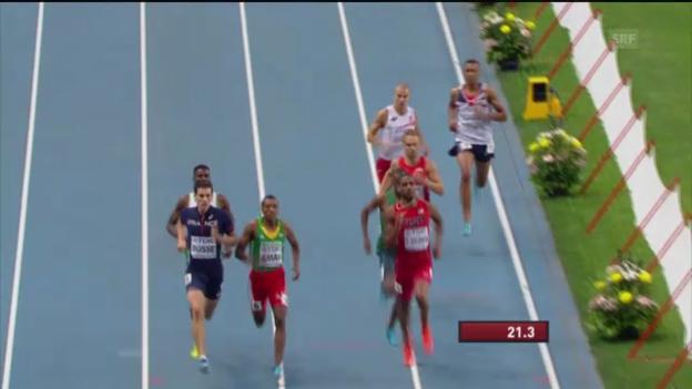 Video «LA-WM: Final über 800 m» abspielen