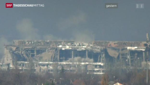 Video «Neue Gewalt in der Ostukraine» abspielen
