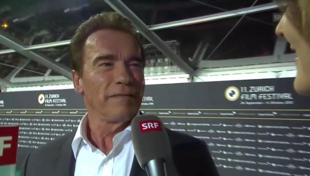 Video «Arnold Schwarzenegger im «G&G»-Interview» abspielen