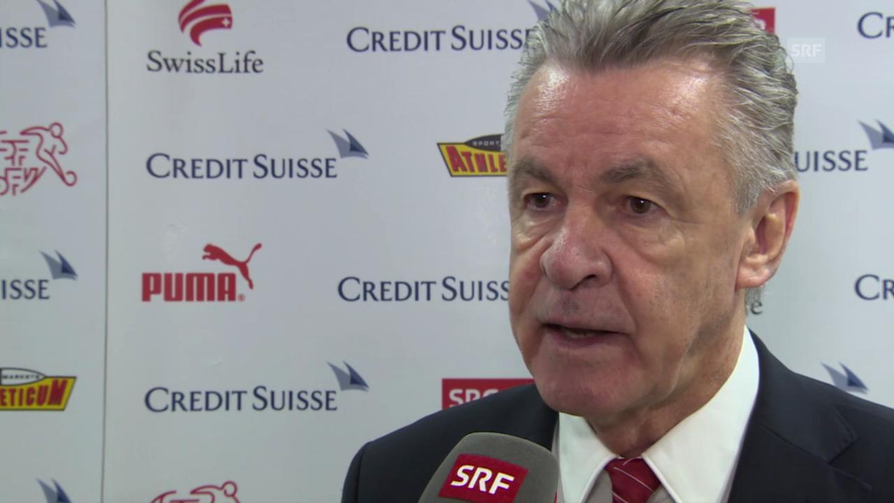 Fussball: Ottmar Hitzfeld über das weitere Programm mit der Nati