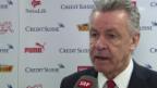 Video «Fussball: Ottmar Hitzfeld über das weitere Programm mit der Nati» abspielen
