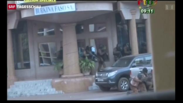Video «Geiselnahme in Burkina Faso» abspielen
