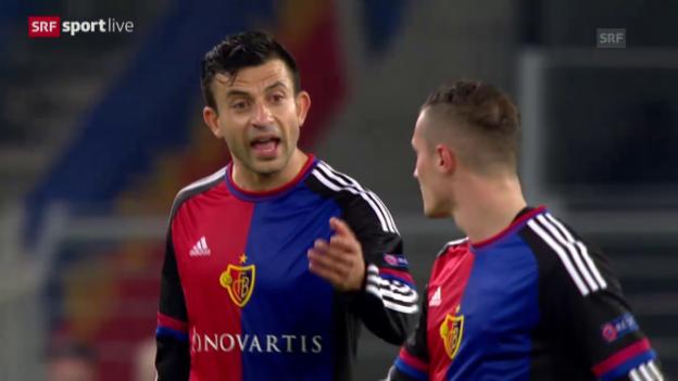 Video «Fussball: Europa League, 3. Spieltag, Zusammenfassung Basel - Belenenses» abspielen