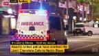 Video «Drei Tote bei Geiselnahme in Sydney» abspielen