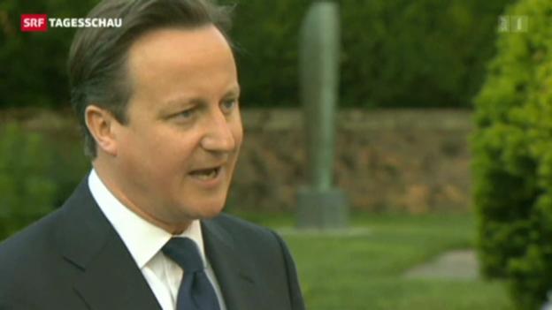 Video «Grossbritannien bereitet möglichen EU-Austritt vor» abspielen