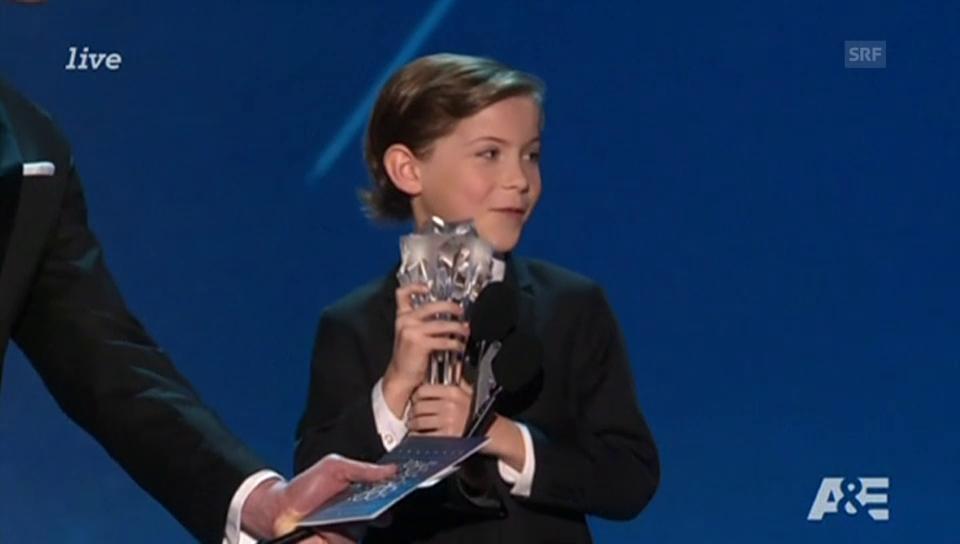 Jacob Tremblay an den Critics' Choice Awards