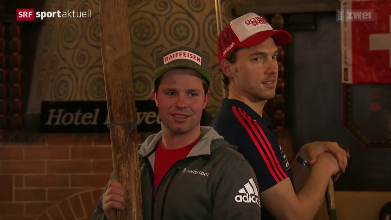 Beat Feuz vor den Lauberhorn-Rennen