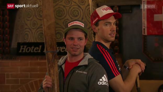 Video «Beat Feuz vor den Lauberhorn-Rennen» abspielen