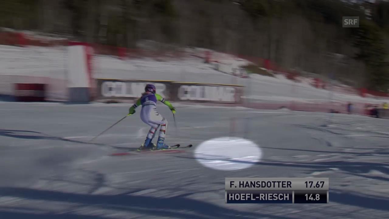 SKI: Weltcup, Slalom Frauen in Courchevel