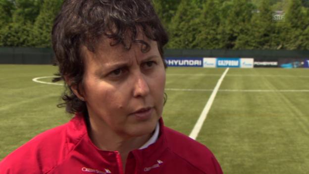 Video «Fussball: Frauen-WM, Sonja Testaguzza im Interview» abspielen