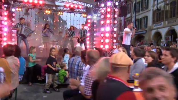 Video «Hitparadenstürmer Marc Trauffer und Band» abspielen