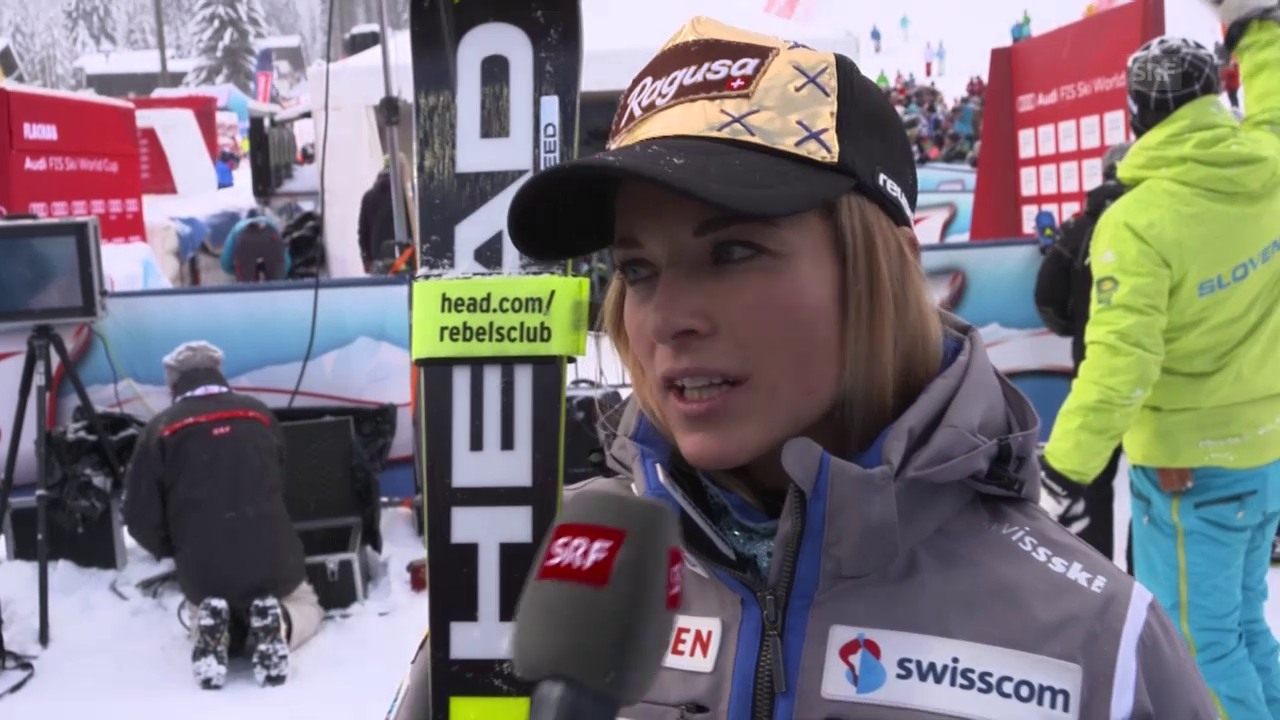 Lara Gut zieht in Flachau Bilanz