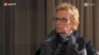 Video «Gigi Oeri – die charismatische FCB-Präsidentin tritt ab und setzt sich in den Lounge-Sessel» abspielen