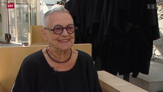 Video «Schlicht und Schwarz – Christa de Carouge» abspielen
