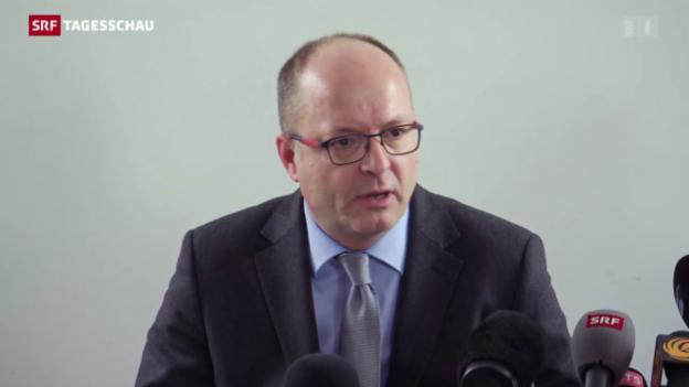 Video «Genfer Staatsanwalt informiert über Verhaftung» abspielen