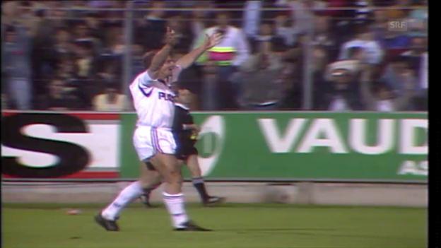 Video «6 Tore auf der Maladière: Xamax - Servette im Mai 1988» abspielen