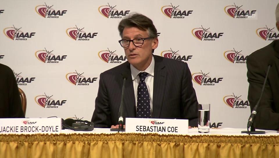 Sebastian Coe zur Sperre russischer Athleten