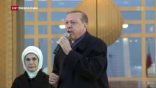 Video «Erdogan weist jede Kritik zurück» abspielen