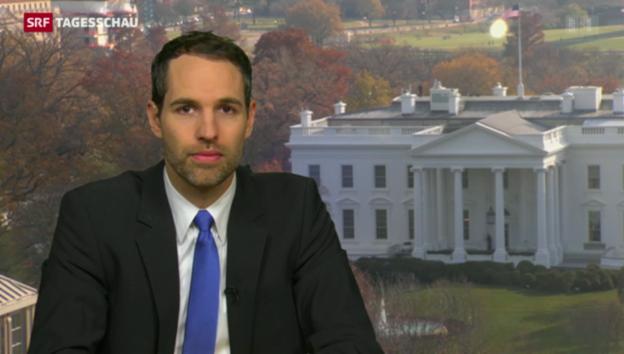 Video «Arthur Honegger über das Vorhaben Obamas» abspielen