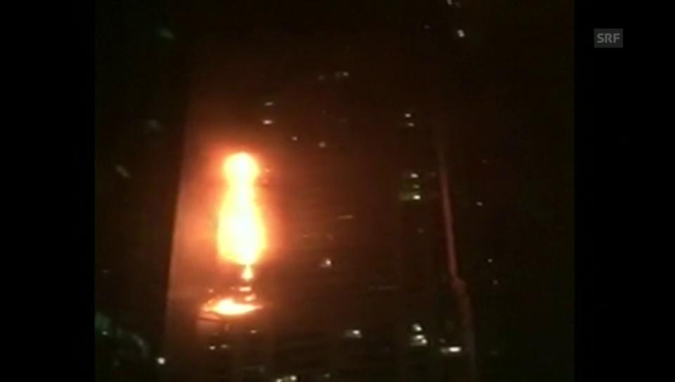 Dubai: «The Torch» steht in Flammen
