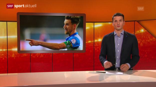 Video «Fussball: GC verliert Pavlovic» abspielen