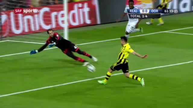 Fussball: Champions League, Halbfinal-Rückspiel, Highlights Real-Dortmund