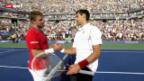 Video «Tennis: Wawrinka - Djokovic» abspielen