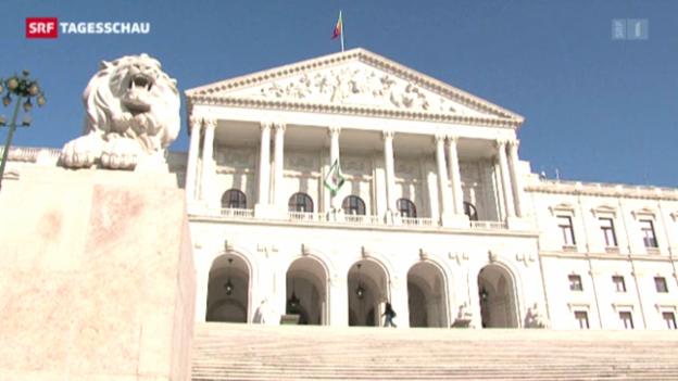 Video «Portugiesischer Aussenminister tritt zurück» abspielen