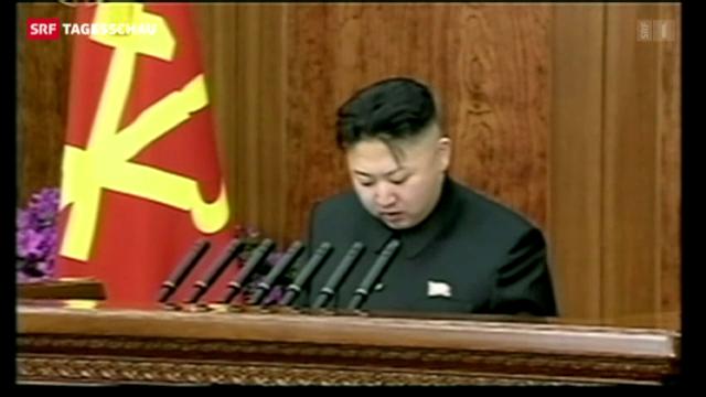 Ungewöhnliche Töne aus Nordkorea