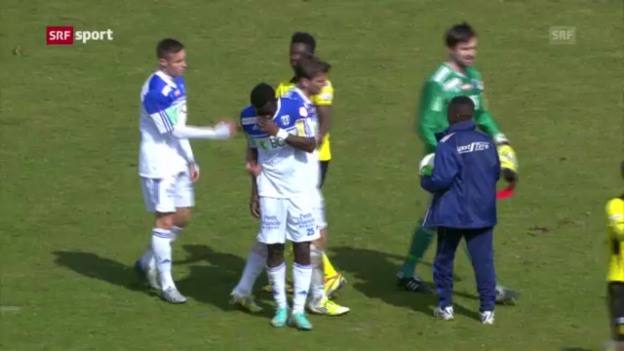 Video «Fussball: Lausanne - YB («sportaktuell»)» abspielen