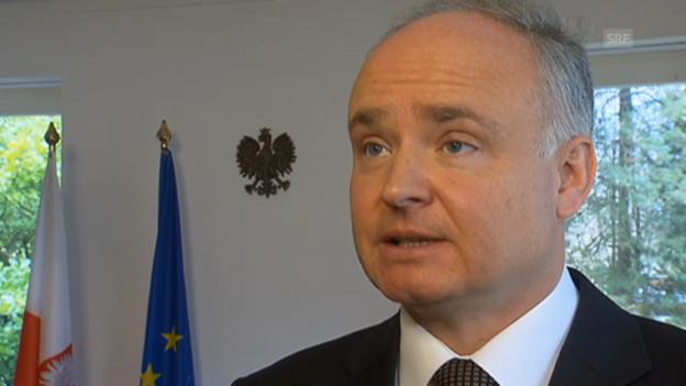 Video «Polens Botschafter in der Schweiz (Vorausschnitt Rundschau)» abspielen