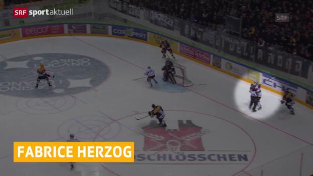 Video «Eishockey: 7 Spielsperren gegen Herzog» abspielen