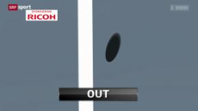 Video ««Tscheggsch de Pögg» – Wie funktioniert Hawk-Eye im Tennis?» abspielen