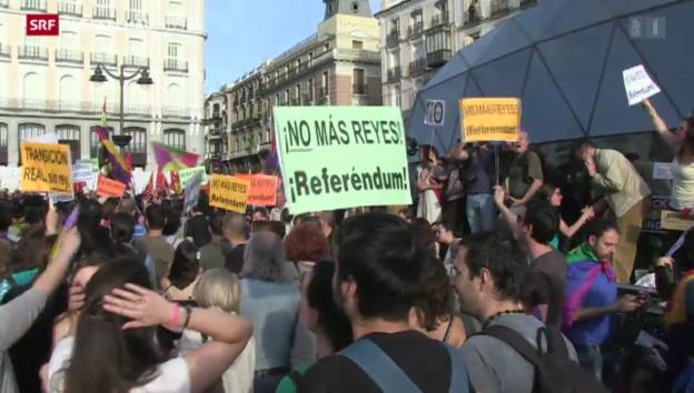 Video ««Morgen ist Spanien eine Republik»» abspielen
