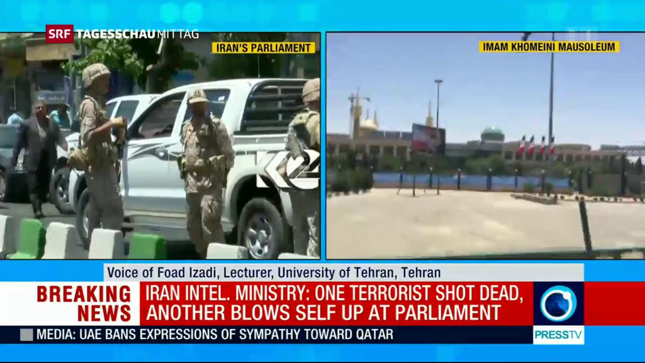 Blutige Anschläge treffen Teheran