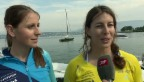 Video «Ski-Alpin-Stars: Was unsere Ski-Damen übers Segeln wissen» abspielen