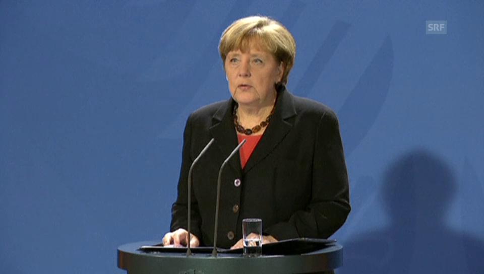 Angela Merkel: «Schmidt war eine Institution»