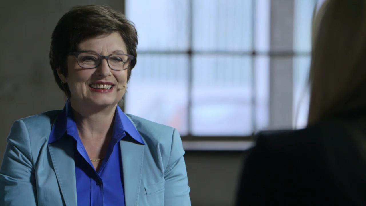 Politikerin Anita Fetz ist begeistert von Christa Rigozzi