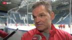 Video «Sean Simpson vor dem Slowenien-Spiel» abspielen