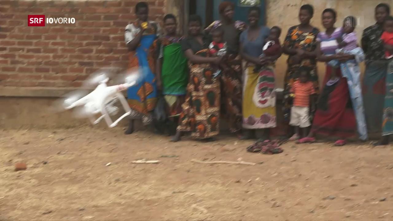 «Die Idee»: Drohnen als Medikamententransporter
